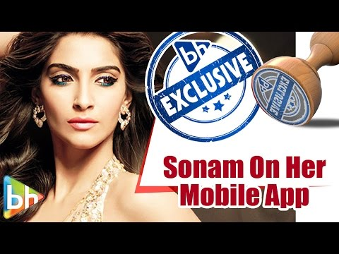 EXCLUSIVE: Sonam Kapoor Talks PASSIONATELY About Her Mobile App