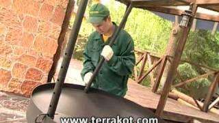 Телепередача Фазенда (Ромашка) - Терракотовый плитняк