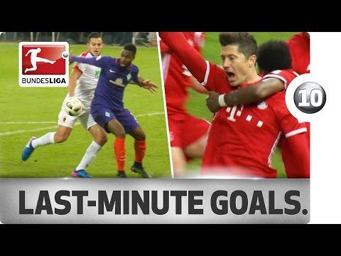 Top 10 most dramatic Bundesliga goals - Lewandowski, Bobadilla & Co.