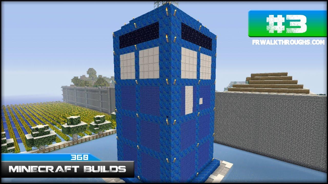 minecraft builds doctor who tardis xbox 360 episode 3