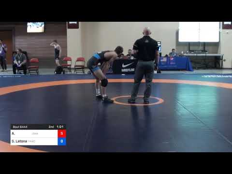 57 Kg Rnd Of 16 Aaron Cashman U Of Iowa Vs Sam Latona TMWC SERTC