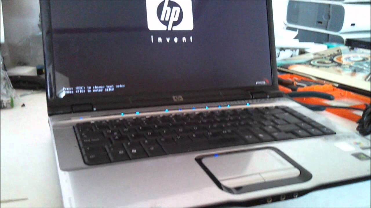 HP Pavilion dv6000 laptop video card drivers