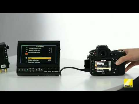 Video Features In The D800 HD-SLR Camera (English)