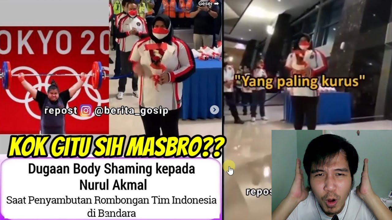 Atlet Indonesia Nurul Akmal Baru Pulang Di Body Shaming Oknum Wartawan