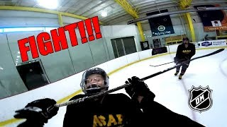 I GOT KICKED OUT OF OUR LAST GAME!!! 2018 3 on 3 Hockey [FINALE]