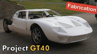 Fabrication d'une GT40 - Pose de la carrosserie - [GT40 project #22]
