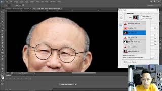 Photoshop   Hướng dẫn chế ảnh poster Mắt Biếc