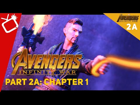 Avengers Infinity War Part 2: Chapter 1 Stop-Motion Film