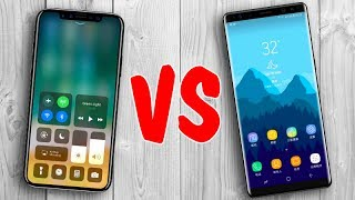 iPhone 8 vs Samsung Galaxy Note 8