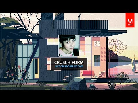 Live Illustration with Marie-Laure Cruschi (Cruschiform) 3/3 - hosted by Michael Chaize