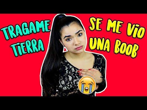 Se me vió una BOOB - MIS PEORES VERGÜENZAS ¡TRÁGAME TIERRA! #StoryTime | Gabriela Isabel