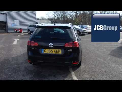 GJ65AEP Volkswagen Golf 1.4 TSI GT (150ps) DSG 1.4l JCB VW MEDWAY