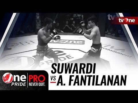 [HD] Suwardi (Indonesia) Vs Ariane Fantilanan (Filipina)    One Pride Pro Never Quit #24