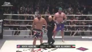 Amir Aliakbari vs Heath Herring