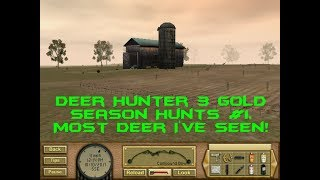 Deer Hunter 3 Gold Season Hunts #1 Most deer I