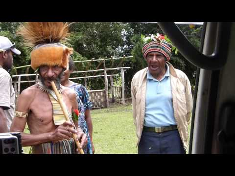 Traditional Tribal Song in Papua New Guinea
