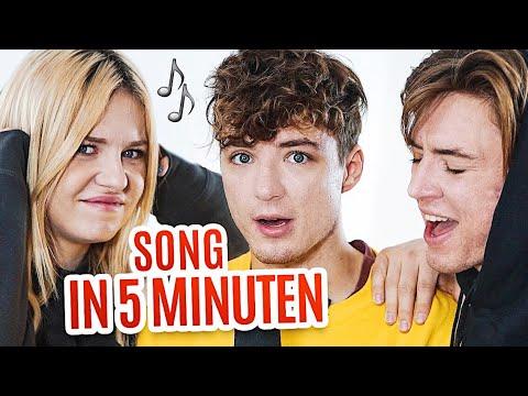 wir schreiben einen SONG in 5 MINUTEN! 🎵😂 mit Kelly MissesVlog