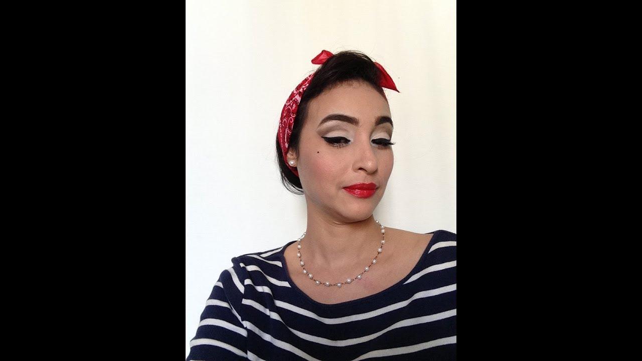 maquillaje rockabilly