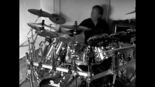 Scorpions - When the smoke is going down - Studio drums by Kris Kaczor