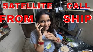 when @CaPtAiN SwAkAsH call from satellite phone???