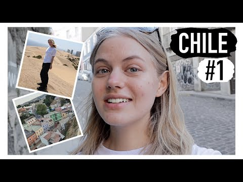 DRAMA, REJSEN OG DE FØRSTE DAGE I CHILE // Chile vlog #1