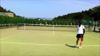 高校生女子シングルス準決勝 2014年千葉ジュニアスプリング