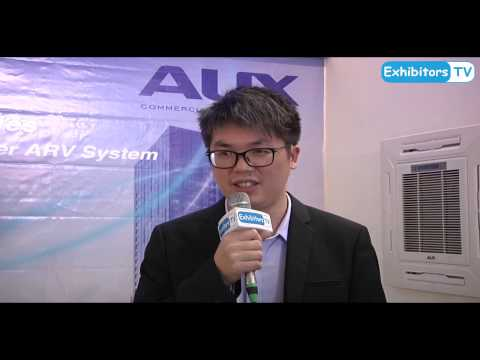 Ningbo Aux Imp. & Exp. Co. Ltd. (Aux Air Conditioner) China at 24th Pakistan HVACR Expo Lahore
