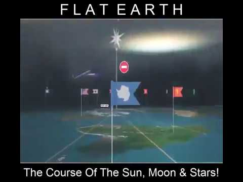 Flat Earth  The Course of the Sun, Moon & Stars    Psalm 19 1- 6