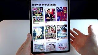 Apple News+ Hands-on!