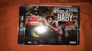 Silent Unboxing: Kodak Black - Project Baby Two CD Video