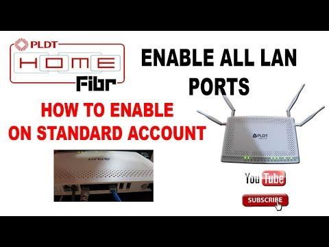 Enable 3&4 Ports in STC modem| كيفية تفعيل منافذ 3 و4 في