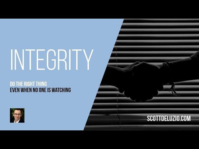 001 - Integrity
