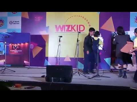 St.Lawrence English High School's student at Lokmat Times Campus Club wizkid event 2017
