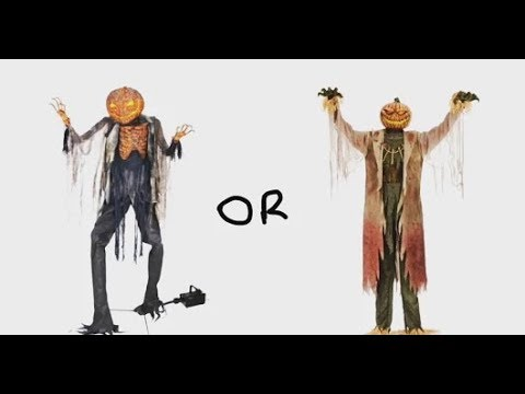 Which Animatronic Is Better? Corn Stalker Vs Scorched Scarecrow
