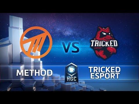 HGC EU – Phase 1 Week 10 - Tricked esport vs. Method -  Game 1