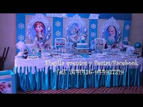 Decoración De Fiesta Infantil Torta Peppa Frozen Minnie Mickey Princesas Castillos