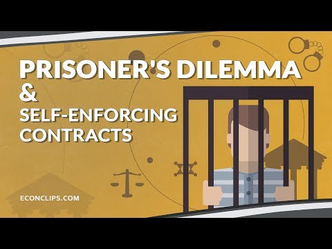 🔒🤔Prisoner's Dilemma & Self-enforcing Contracts