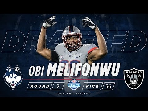 2017 NFL Draft - Oakland Raiders 56th Overall Pick - UConn Safety Obi Melifonwu