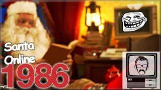 Santa went Online in 1986 and got Trolled | Nostalgia Nerd