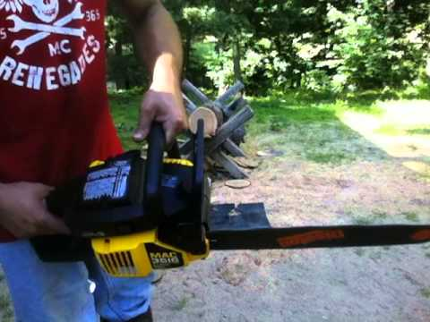 Mcculloch 3516 chainsaw with 16 bar youtube greentooth Choice Image