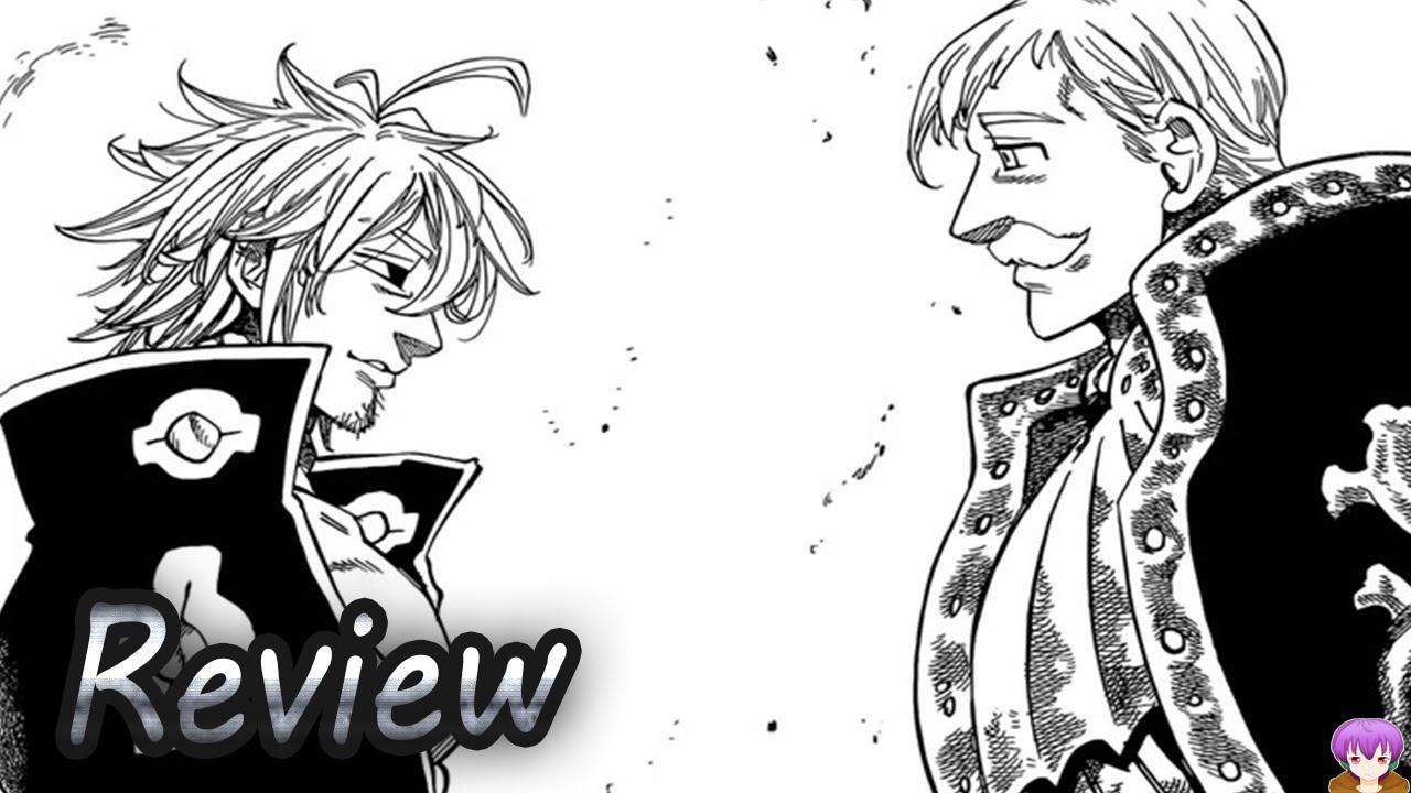 Escanor Vs Estarossa Hype Nanatsu No Taizai Chapter 183 Manga Review Youtube