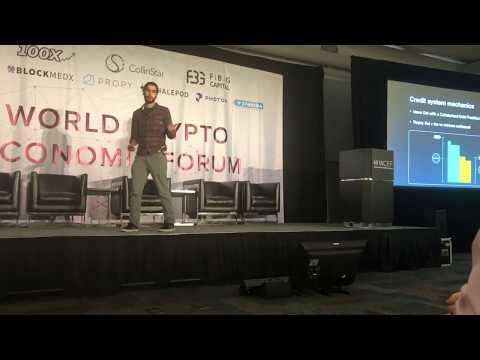 MakerDAO at the World Crypto Economic Forum