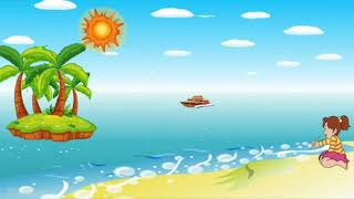 Детская песня - Я рисую море, голубые дали