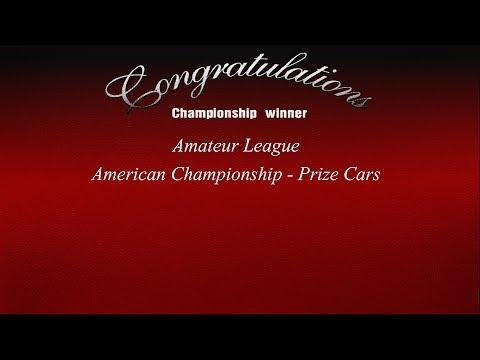 Gran Turismo 3 -  Amateur League - American Championship Prize Cars