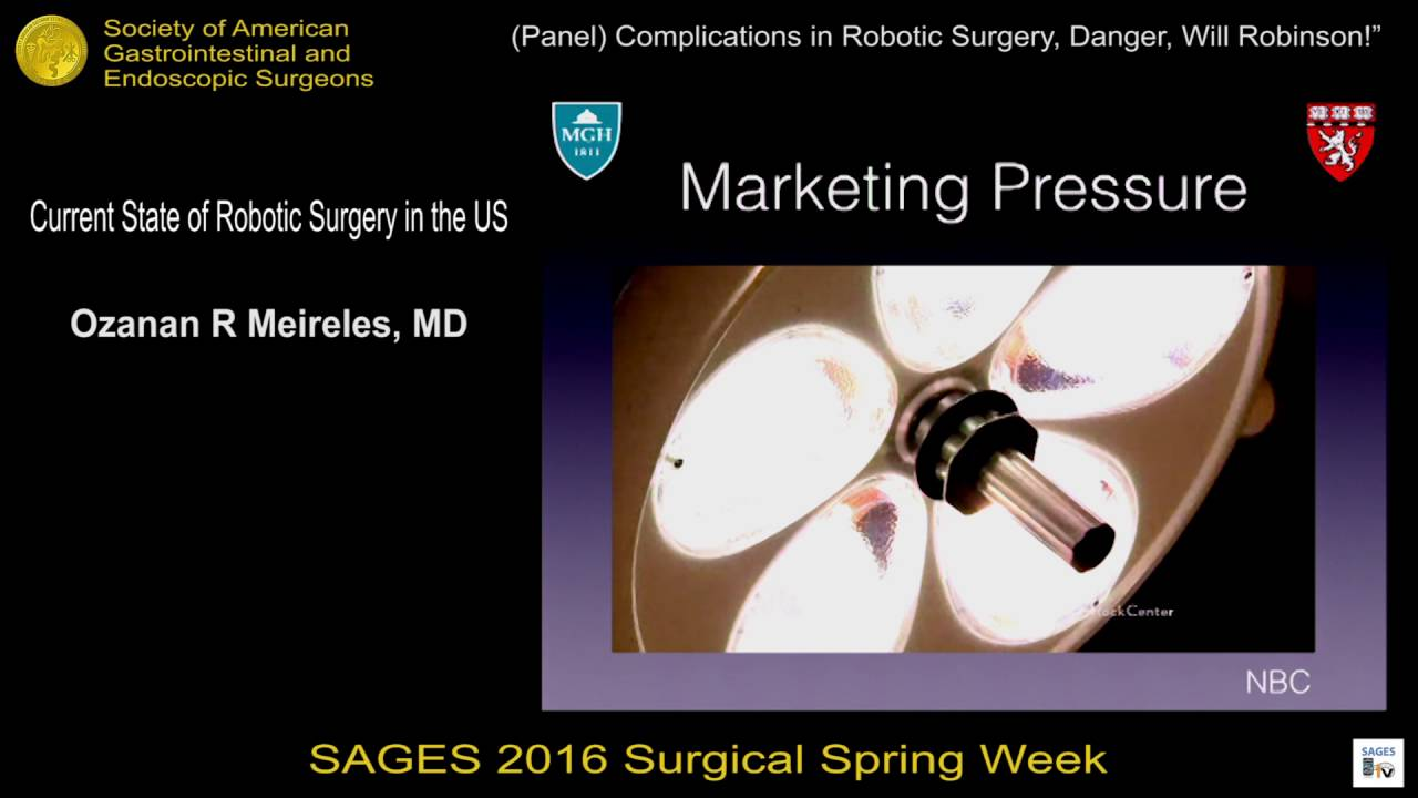 Current State of Robotic Surgery in the US from the SAGES Video Library