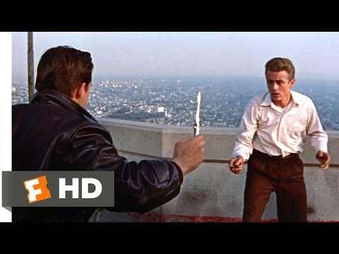 Rebel Without a Cause (1955) - The Knife Fight Scene (5/10) | Movieclips