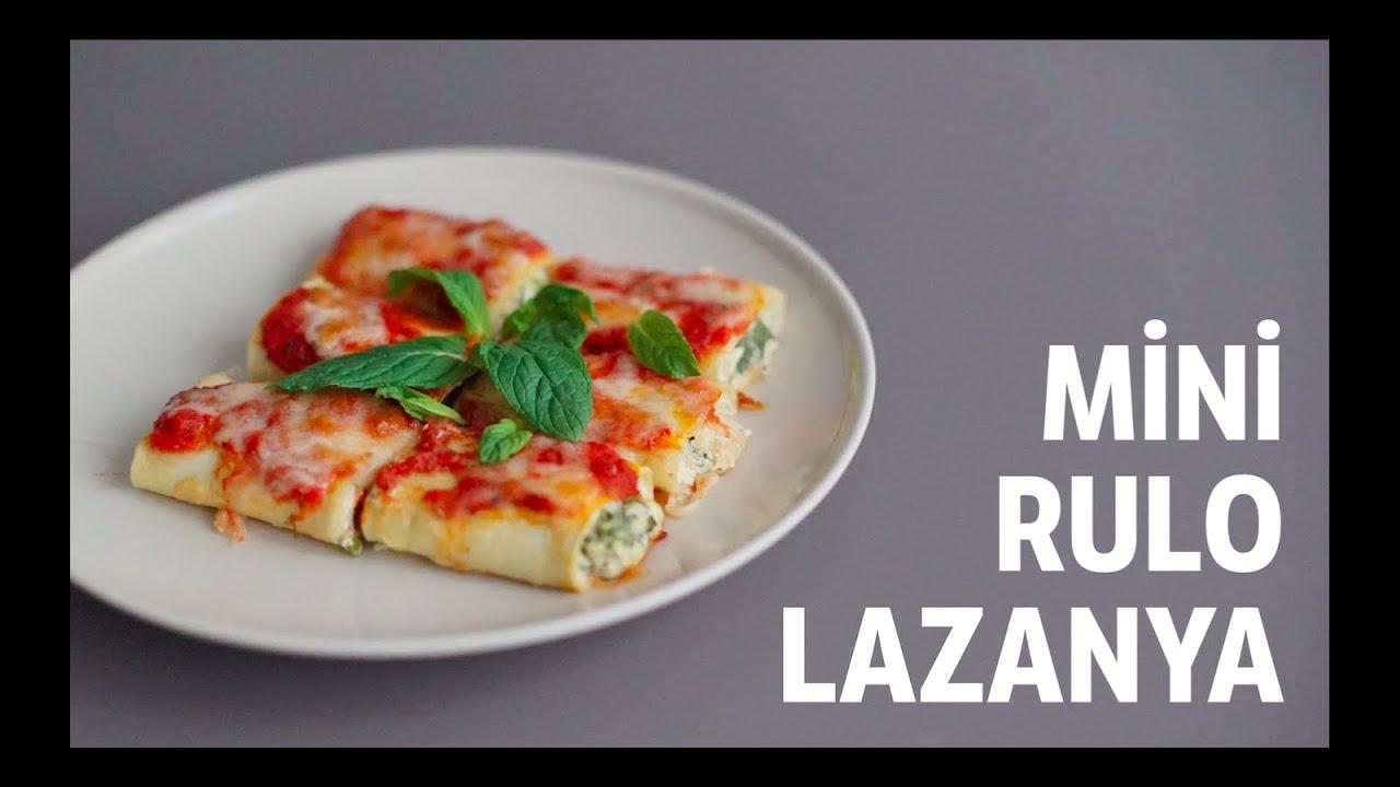 Kıymalı Rulo Lazanya Tarifi Videosu