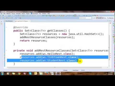 Building Restful Web Services In Java With Eclipse