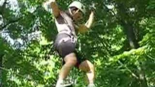 treetop trekking at horseshoe valley, june 15, 2008