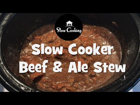 A Hearty Slow Cooker Beef And Ale Stew